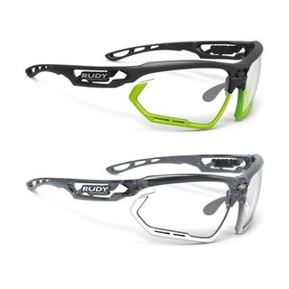 Rudy Project Brille Fotonyk crystal graphite/ bumpers white Gläser: ImpactX 2 black
