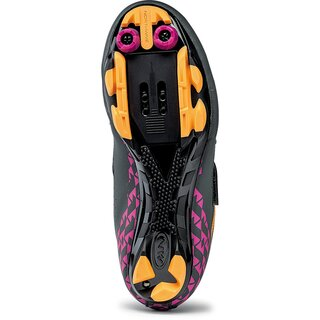 Northwave Schuhe Origin WMN, anthrazit fuchsia orange