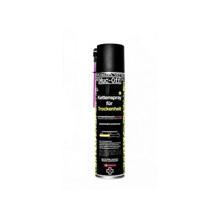 MUC-OFF Kettenspray DRY WAX CHAIN LUBE 400ml